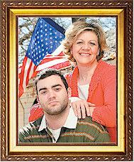Cynde Collins-Clark & son Joe